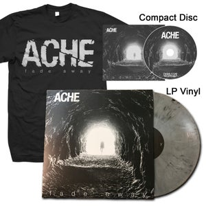 "Image of ACHE ""Fade Away"" CD, LP Vinyl, and Shirt"