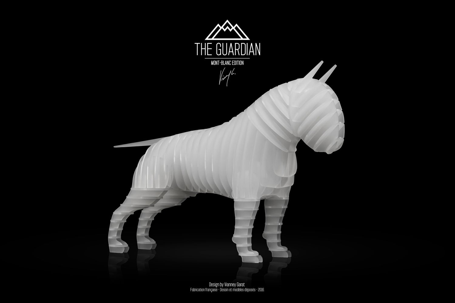 "Image of THE GUARDIAN ""MONT-BLANC EDITION"" Limited Edition 50 Units"