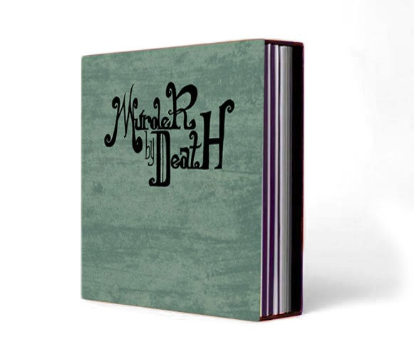 Image of BOX SET w/ 8 albums full lengths + Lonesome Holiday & Finch EP in a Slipcase