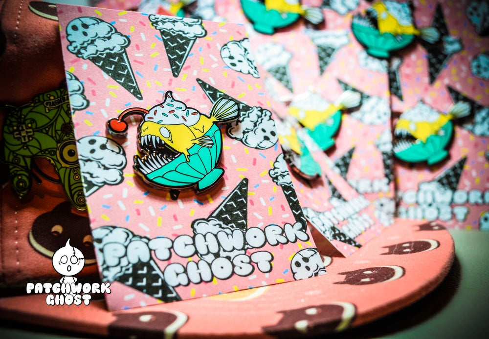 Image of Pass The Sundae Pin LE/100