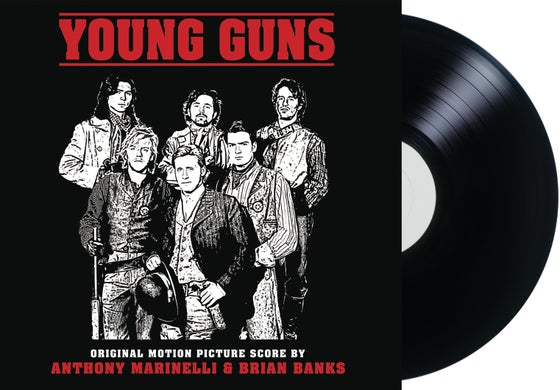 Image of Young Guns - Original Motion Picture Score (LP)