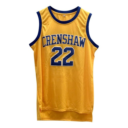 "Image of LOVE & BASKETBALL ""QUINCY MCCALL #22"" CRENSHAW HIGH BASKETBALL JERSEY"