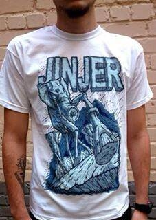 Image of JINJER - Elephant Headcharge - T-SHIRT