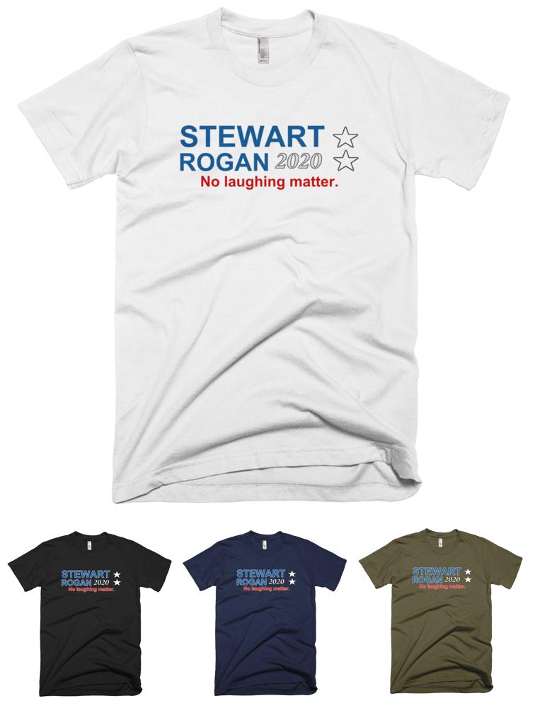 """Image of Stewart Rogan 2020 - """"No laughing matter."""""""