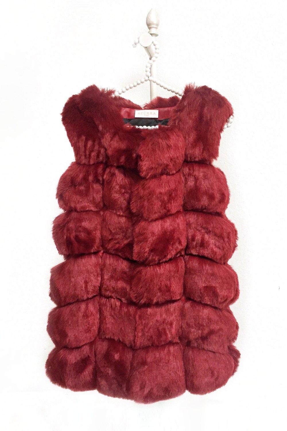 Image of Amsterdam Fur Gilet