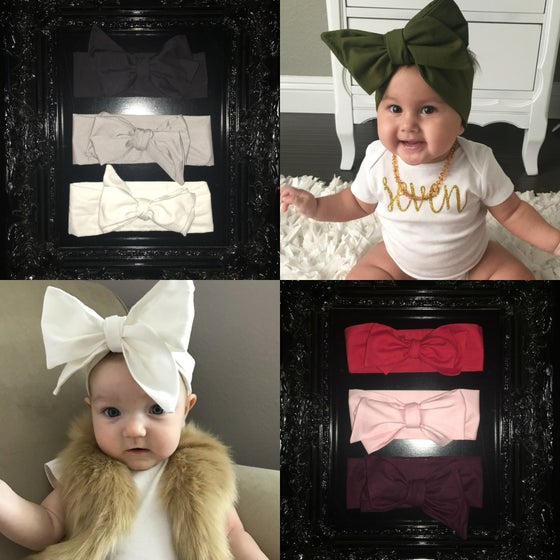 Image of Baby Head Wrap - SOLIDS