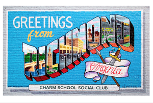 Image of Greetings from Richmond Virginia print