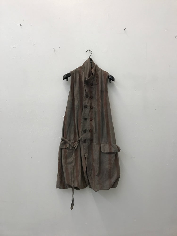 Image of Metsu Double Breasted Sleeveless Jacket