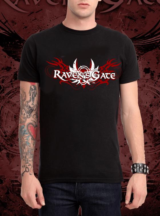 Image of Raven's Gate Logo Tshirt