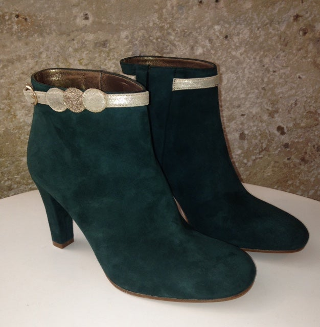 Image of Boots LUBITSCH (Patricia Blanchet) - Vert Forêt