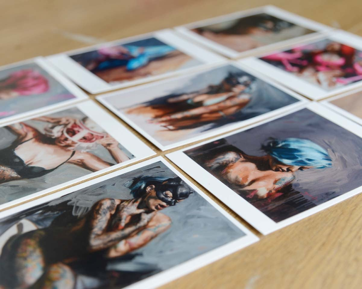 Image of 9x Art Cards (2016)