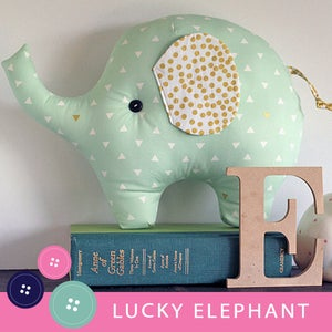 Image of Lucky the Elephant PDF Sewing Pattern