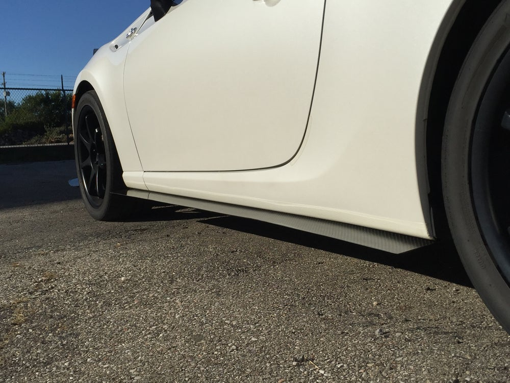 Image of Dry carbon fiber FR-S/BRZ side splitters