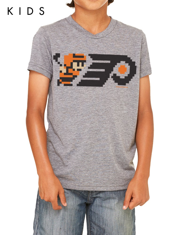 Image of 8-Bit Philly Hockey Kids T-Shirt