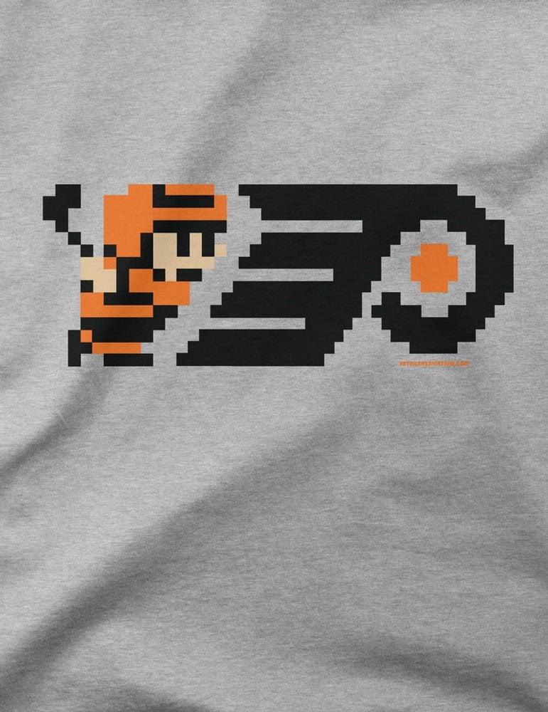 Image of 8-Bit Philly Hockey Kids T-Shirt