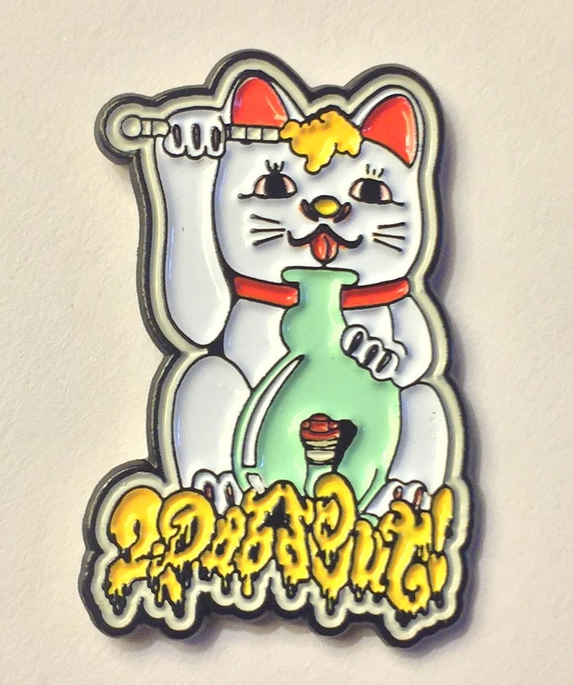 Image of Dabcat Hat Pin