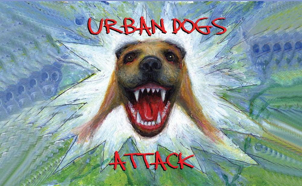 T&M 026 MC - Urban Dogs - ATTACK Cassette Album