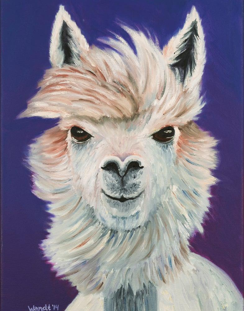 Image of I, Alpaca - Giclèe Print
