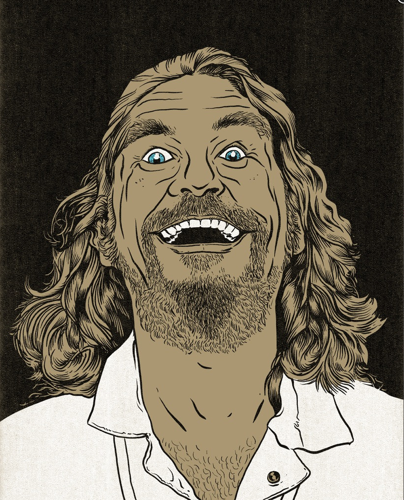 Image of The Dude AP print