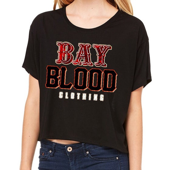 Image of Ladies Bay Blood Frisco Crop Tees