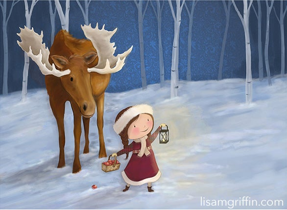 Image of MERRY & BRIGHT, HOLIDAY - Studio Print