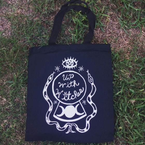 Image of Up With Witches Tote Bag