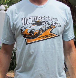 Image of Ford GT40 at LeMans T Shirt