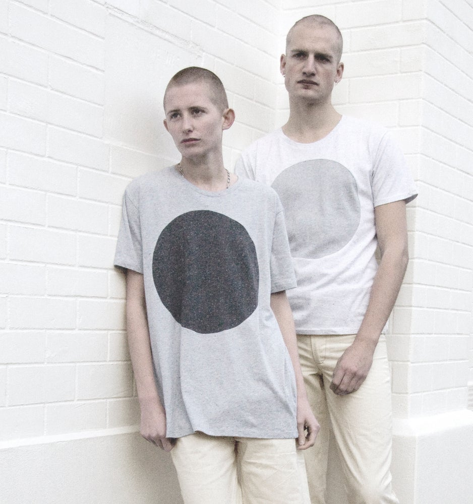 Image of GREY LABEL FLECKED LUNAR T-SHIRT