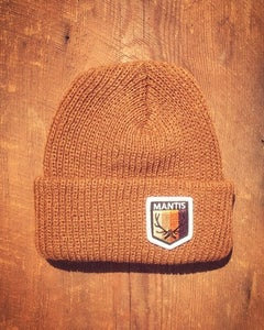 Image of Elk Patch salary cap snowboard beanie