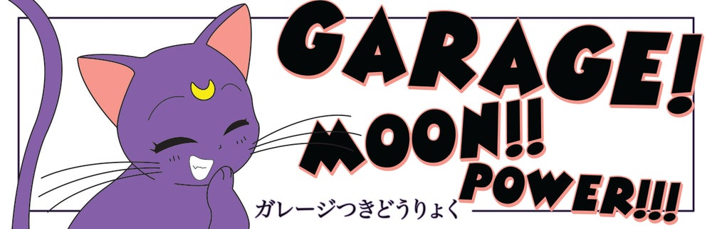 Image of Luna Cat sticker