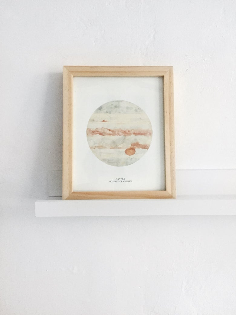 Image of Jupiter Print - 8 x 10