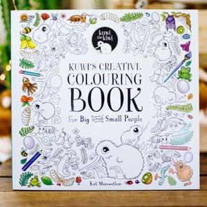 Kuwi's Creative Colouring Book