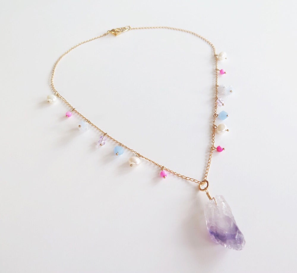 Image of Elena Purple Necklace