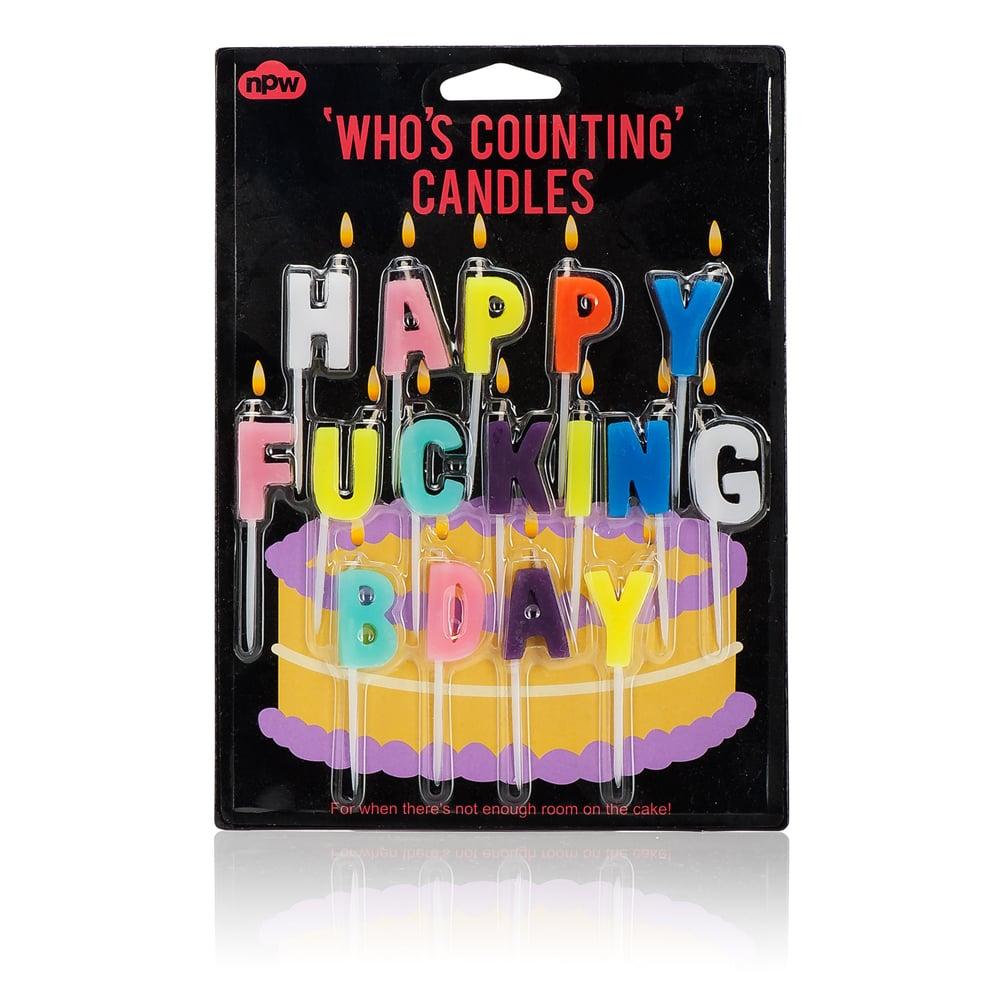 Bougies d'anniversaire II