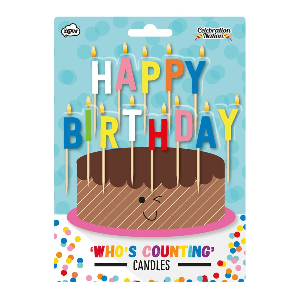 Bougies d'anniversaire I