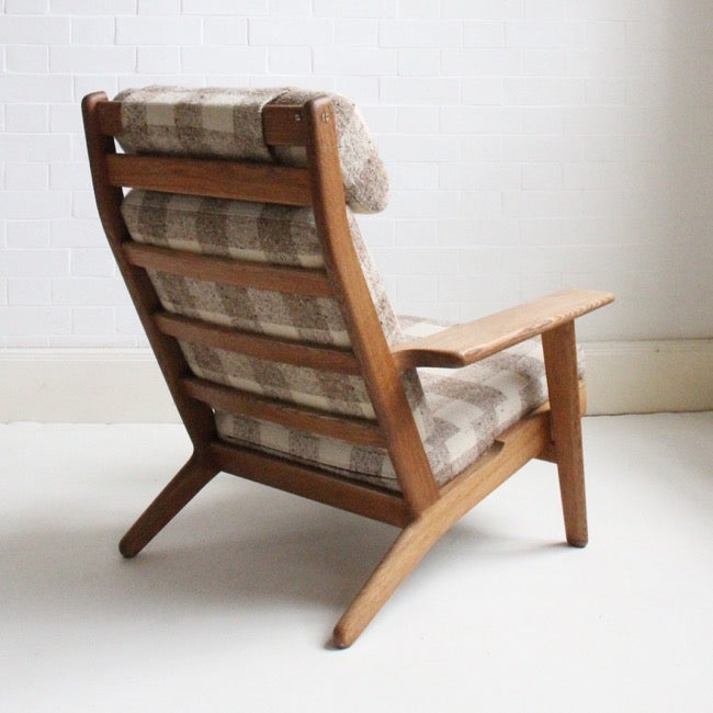 Image of Hans J. Wegner High Back Lounge Chair, Getama Denmark,