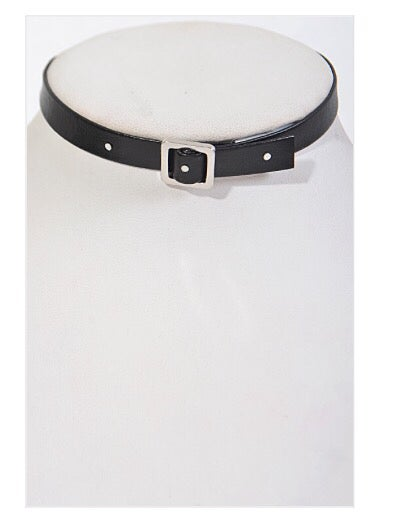 "Image of ""Belted"" choker"
