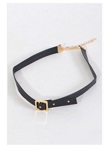 """Image of """"Belted"""" choker"""