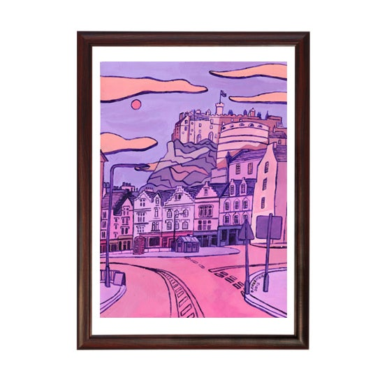 Image of Original Painting: Edinburgh's Grassmarket