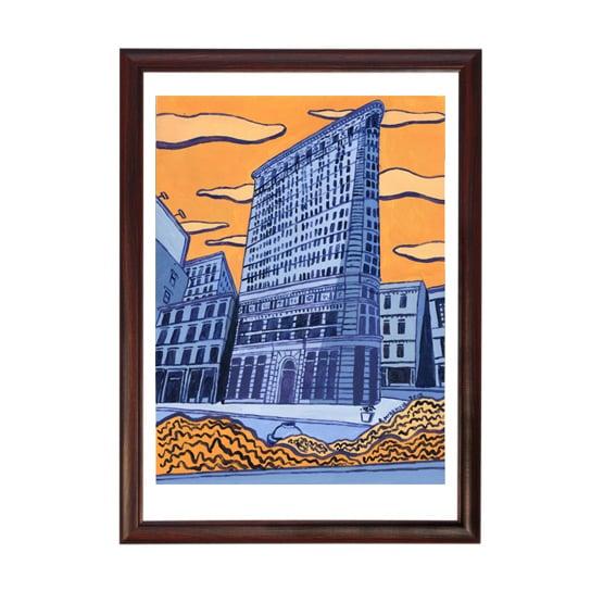 Image of Original Painting: New York's Flatiron Building