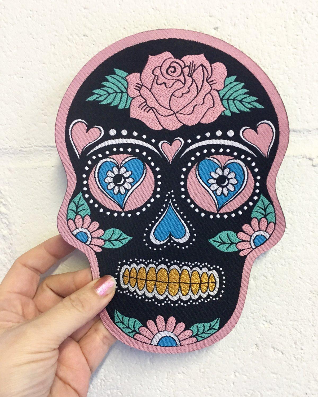 Skull Back Patch