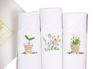 Image of  Ladies Hankies: Gardening Set