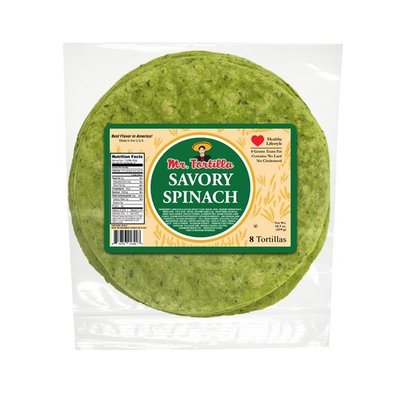 """Image of 8"""" Savory Spinach - 8 Count"""