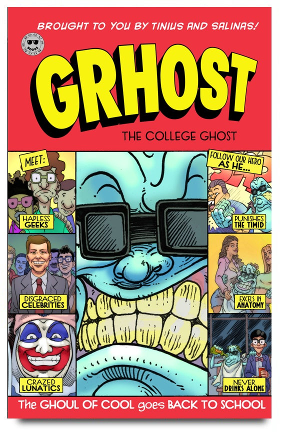 Image of Grhost The College Ghost #1