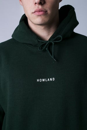 Image of BOTTLE GREEN HOODIE