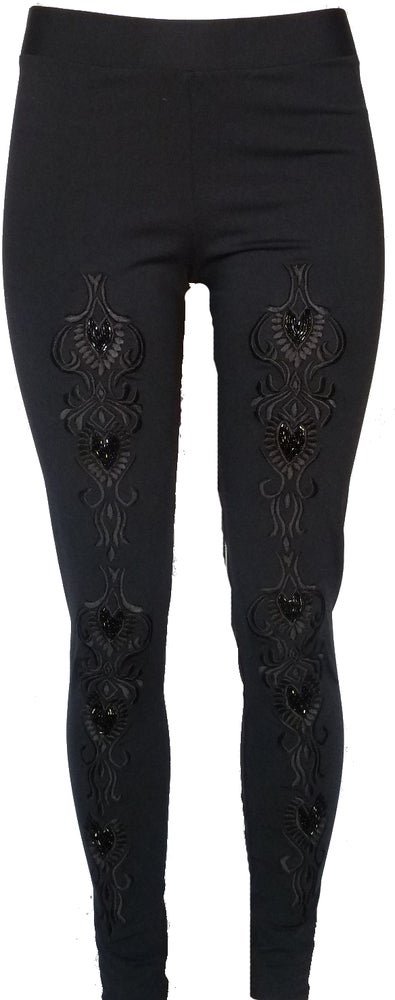 Image of Black Beaded FW3517