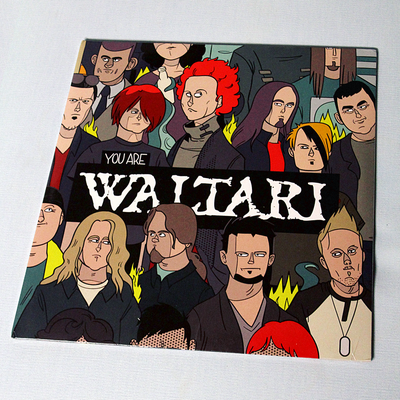 "Image of You Are Waltari 12"" LP"