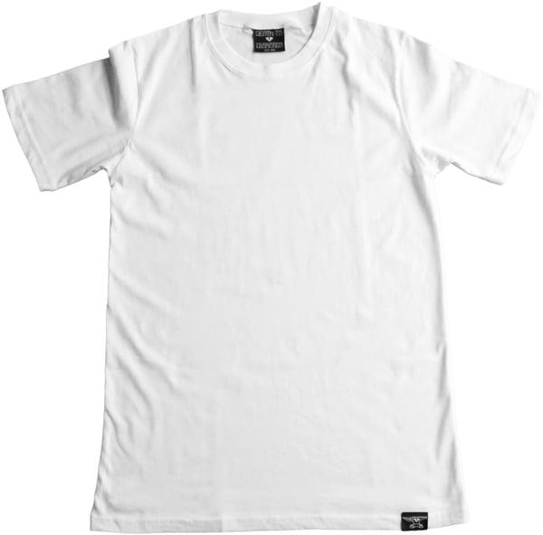 Image of Custom Blank White T-Shirt