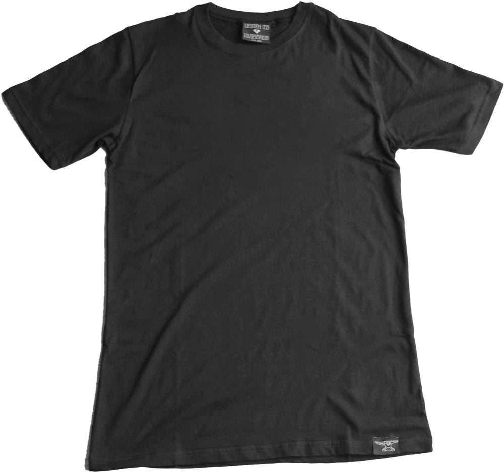 Image of Custom Blank Black T-Shirt