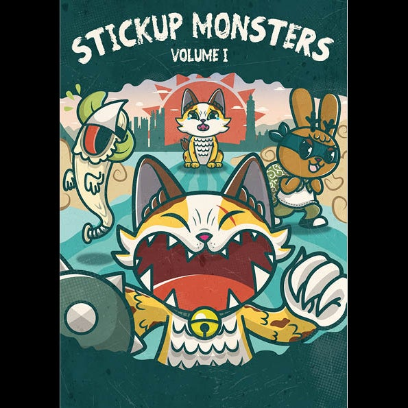 Image of StickUp Monsters Artbook VOL.1